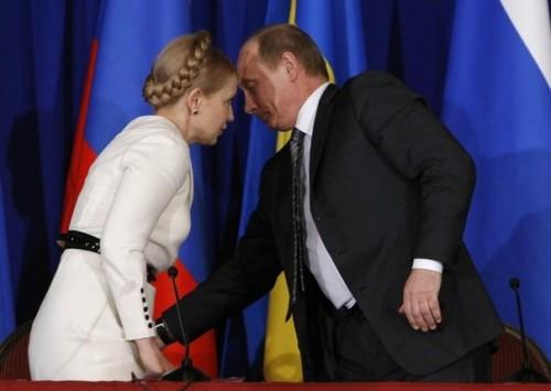 Путін знає, що у Тимошенко під спідницею?