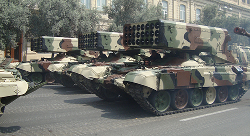 Azeri_TOS-1_parade_in_Baku_2013