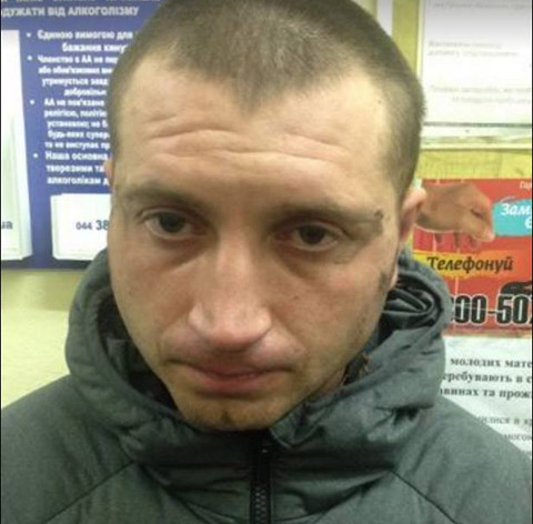 Денис Молоток після ДТП. Фото з facebook